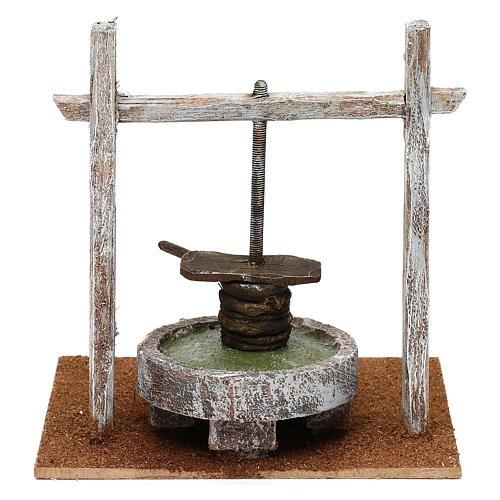 Resin press for Nativity scene 12 cm 20x20x15 cm 4