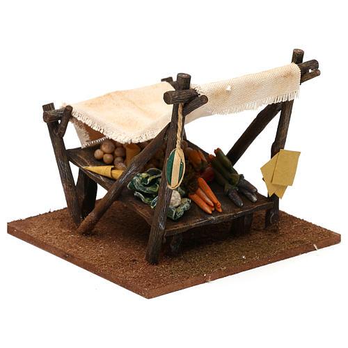 Mostrador del verdulero para belenes de 10 cm 15x15x15 cm 3