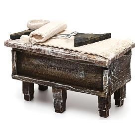 Tailor workbench in resin Nativity scene 12 cm 5x10x5 cm s2