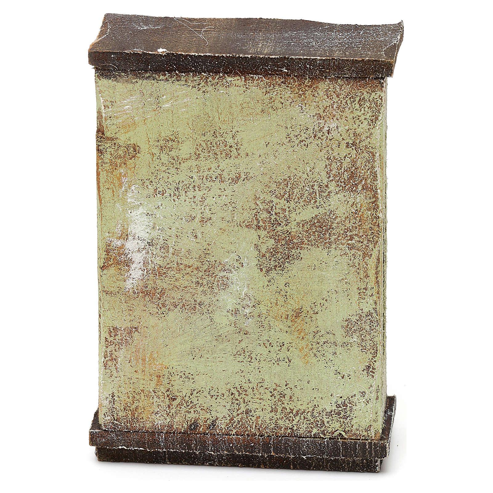Mobile sarto con rotoli stoffa presepi 10 cm 10x5x5 cm 4
