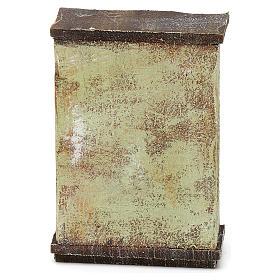 Mobile sarto con rotoli stoffa presepi 10 cm 10x5x5 cm s4