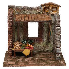 Greengrocer setting for 10 cm Nativity scene, 20x25x20 cm s1