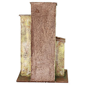 Casita con 3 pisos de 30x20x15 cm para belén de 10 cm s4