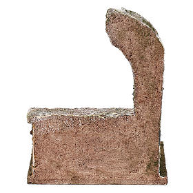 Arco con casette di verdura di 15x10x10 cm presepe 12 cm s4