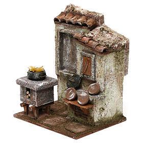 Macaronier's room 20x15x10 cm for Nativity scene 12 cm s2