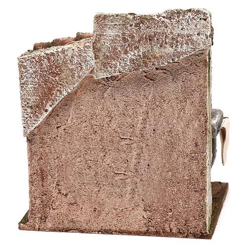 Ambientación vendedor de macarrones 20x15x10 cm belén 12 cm 4