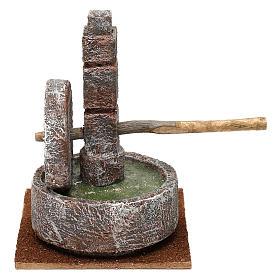 Animal millstone for 12 cm Nativity scene, 15x10x10 cm s4