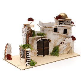 Arab house with arch, 20x30x15 cm s3