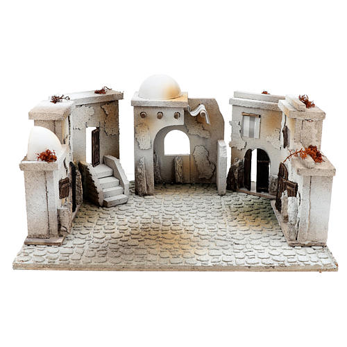 Ambientazione stile arabo di 20x40x30 cm presepe 7 cm 1