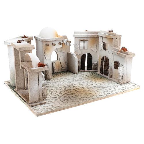 Ambientazione stile arabo di 20x40x30 cm presepe 7 cm 3