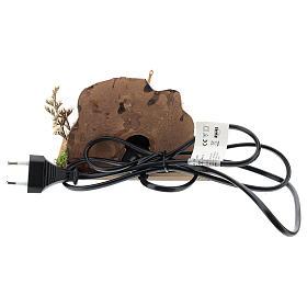 Horno con sartenes y fuego 15x10x10 cm para belén 8-10 cm s4