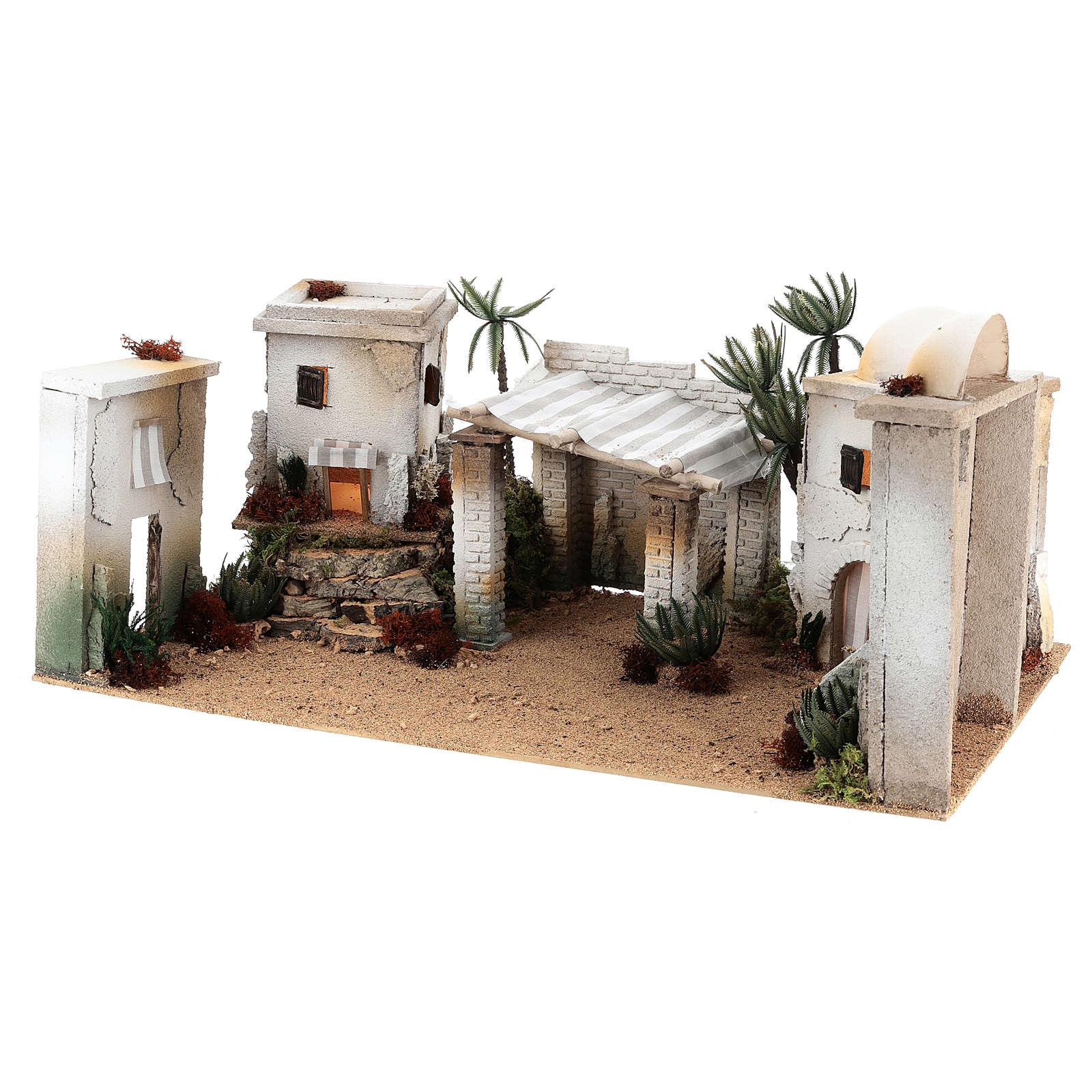 Composición árabe de corcho cúpula y terraza 35x65x35 cm CENTRAL 4