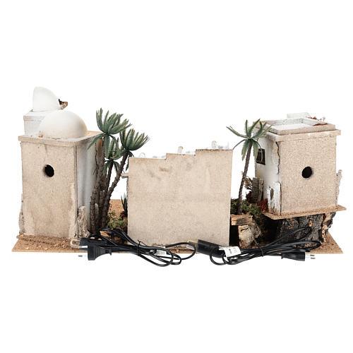 Décor arabe en liège dôme et terrasse 35x65x35 cm CENTRAL 4
