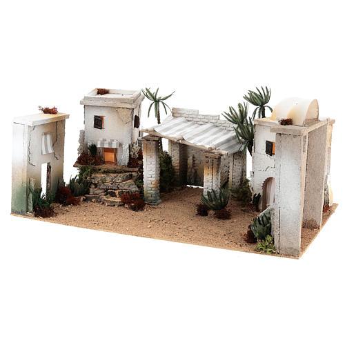 Composizione araba in sughero cupola e terrazzo 35x65x35 cm CENTRALE 2