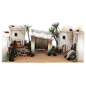 Parte de cenário árabe em cortiça cúpula e balcão 35x65x35 cm CENTRAL s1