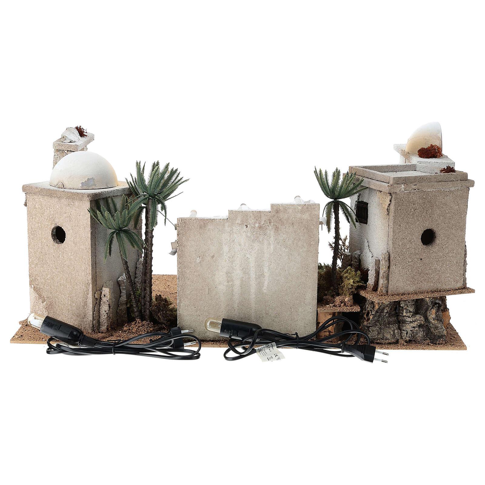 Décor arabe en liège dôme et terrasse 30x60x40 cm CÔTÉ DROIT 4