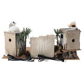 Composizione araba in sughero cupola e terrazzo 30x60x40 cm LATO DX s4