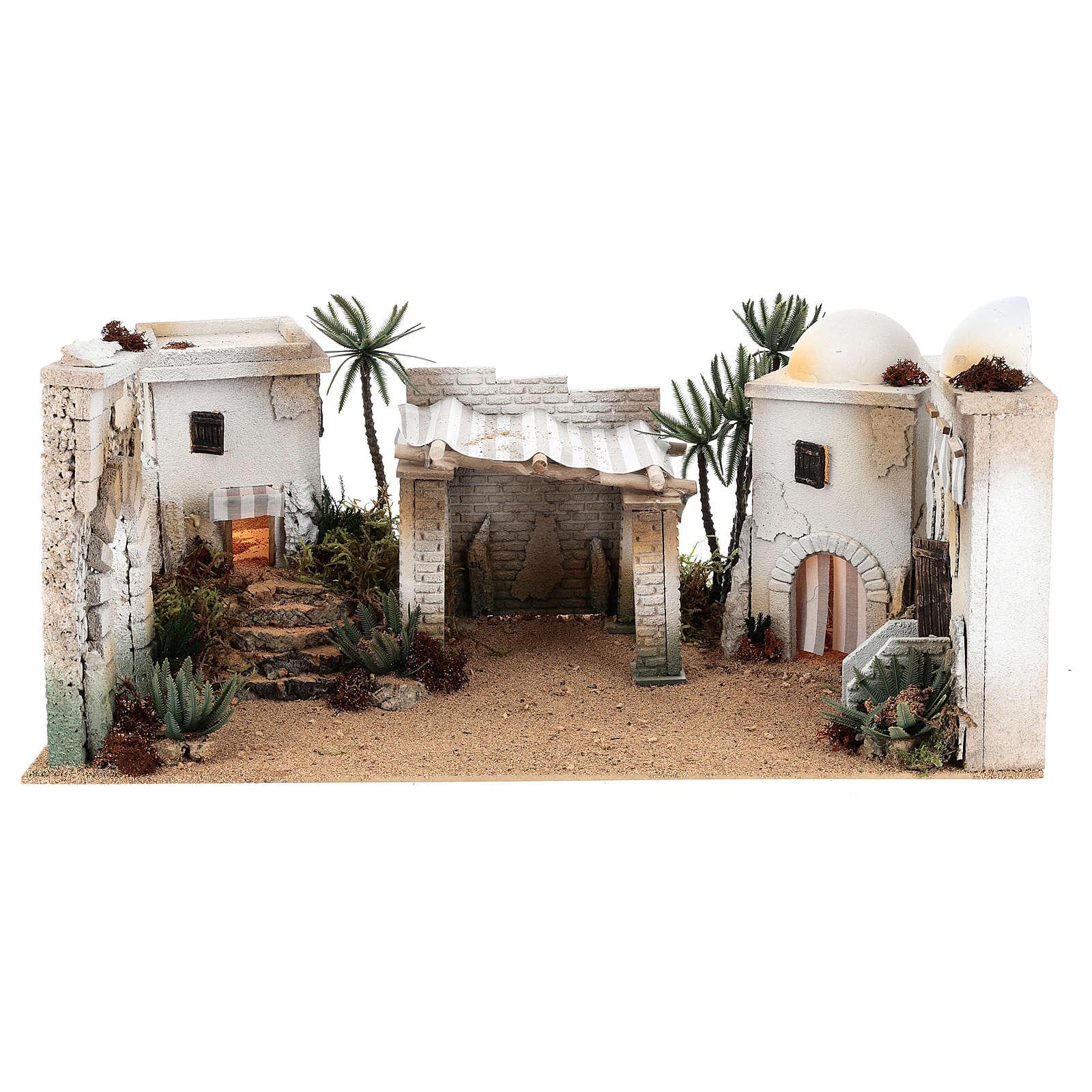 Composición paisaje árabe con accesorios 30x60x40 cm LADO IZQUIERDO 4