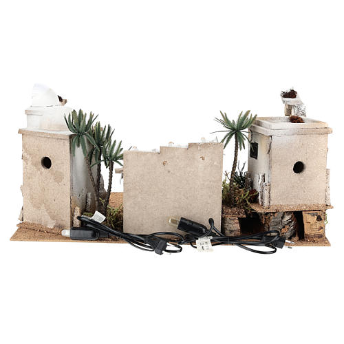 Décor arabe en liège avec accessoires 30x60x40 cm CÔTÉ GAUCHE 4