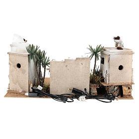 Composizione paesaggio arabo con accessori 30x60x40 cm LATO SX s4