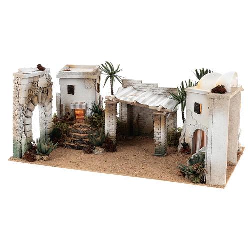 Composizione paesaggio arabo con accessori 30x60x40 cm LATO SX 2