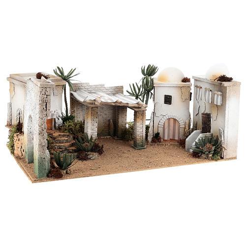 Composizione paesaggio arabo con accessori 30x60x40 cm LATO SX 3