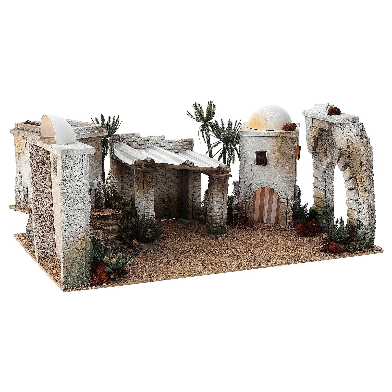 Composizione araba COMPLETA 35x183x115 cm in sughero 4