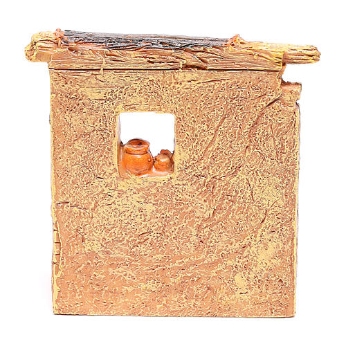 Bottega falegname 10x8x5 cm per presepe 6-8 cm 4