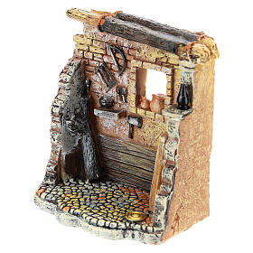 Oficina de carpinteiro 10x8x5 cm para presépio com figuras de 6-8 cm de altura média s6