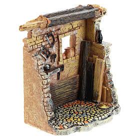 Oficina de carpinteiro 10x8x5 cm para presépio com figuras de 6-8 cm de altura média s7