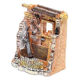 Miniature carpenter workshop 10x8x5 cm, for 6-8 cm nativity s2