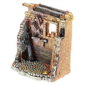 Miniature carpenter workshop 10x8x5 cm, for 6-8 cm nativity s6