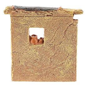 Miniature carpenter workshop 10x8x5 cm, for 6-8 cm nativity s8