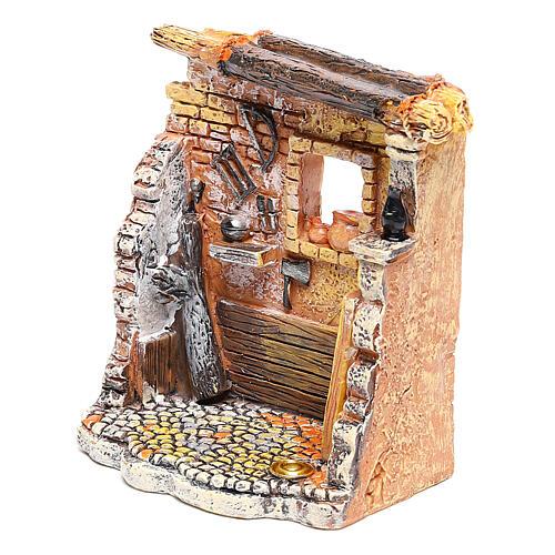 Miniature carpenter workshop 10x8x5 cm, for 6-8 cm nativity 2