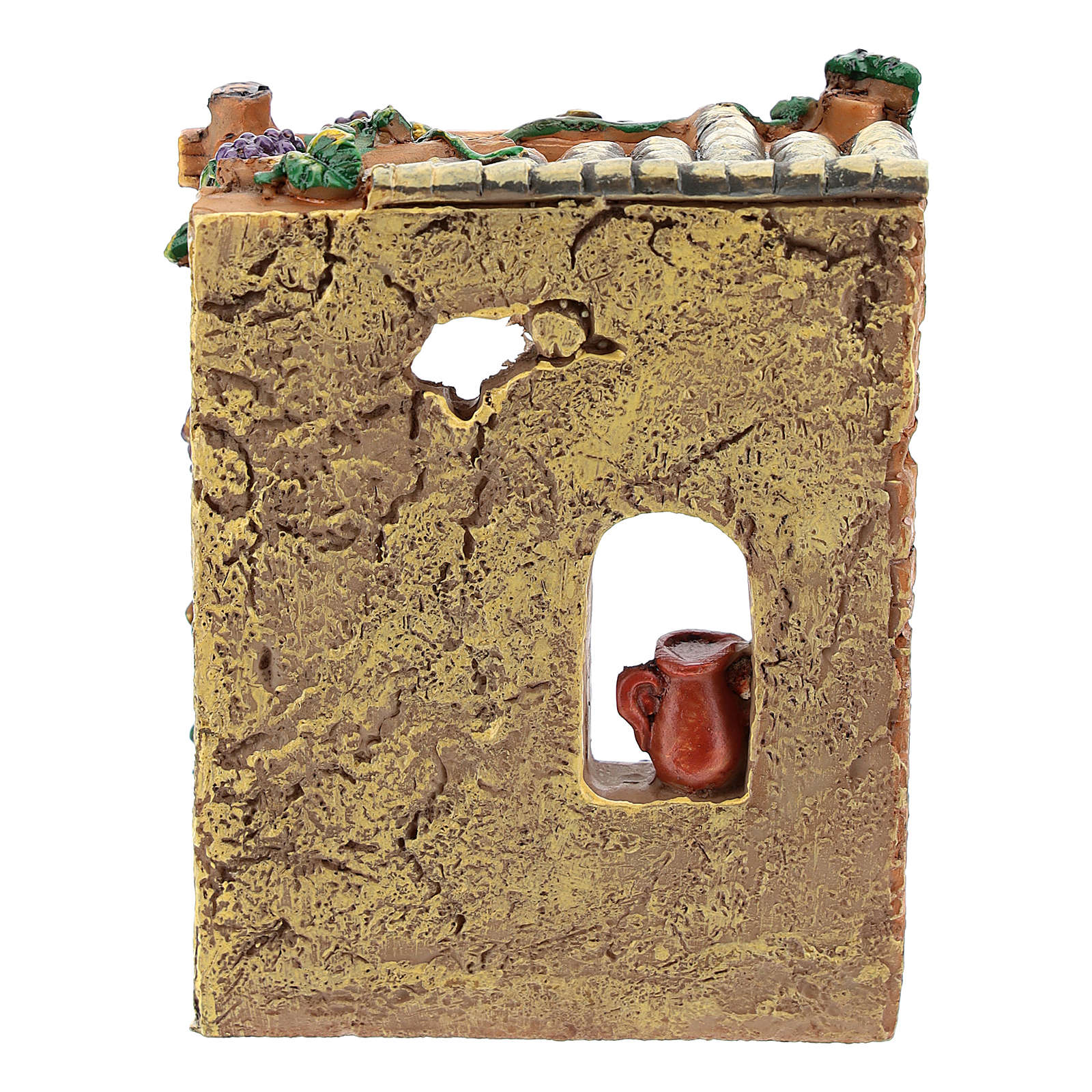 Taverne en résine 10x7x4 cm pour crèche 6-8 cm 4