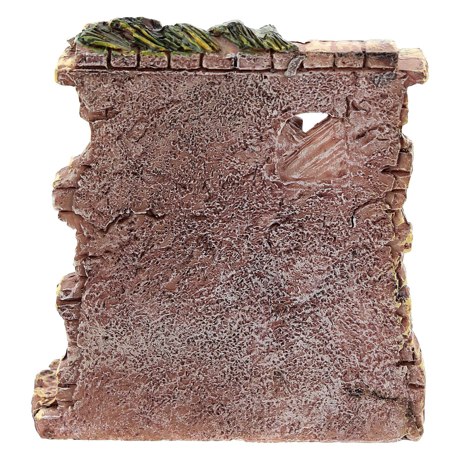 Tienda panadero de resina 10x8x4 cm para belén 6-8 cm 4