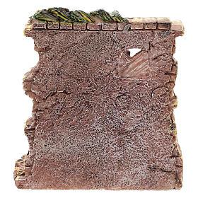 Tienda panadero de resina 10x8x4 cm para belén 6-8 cm s4