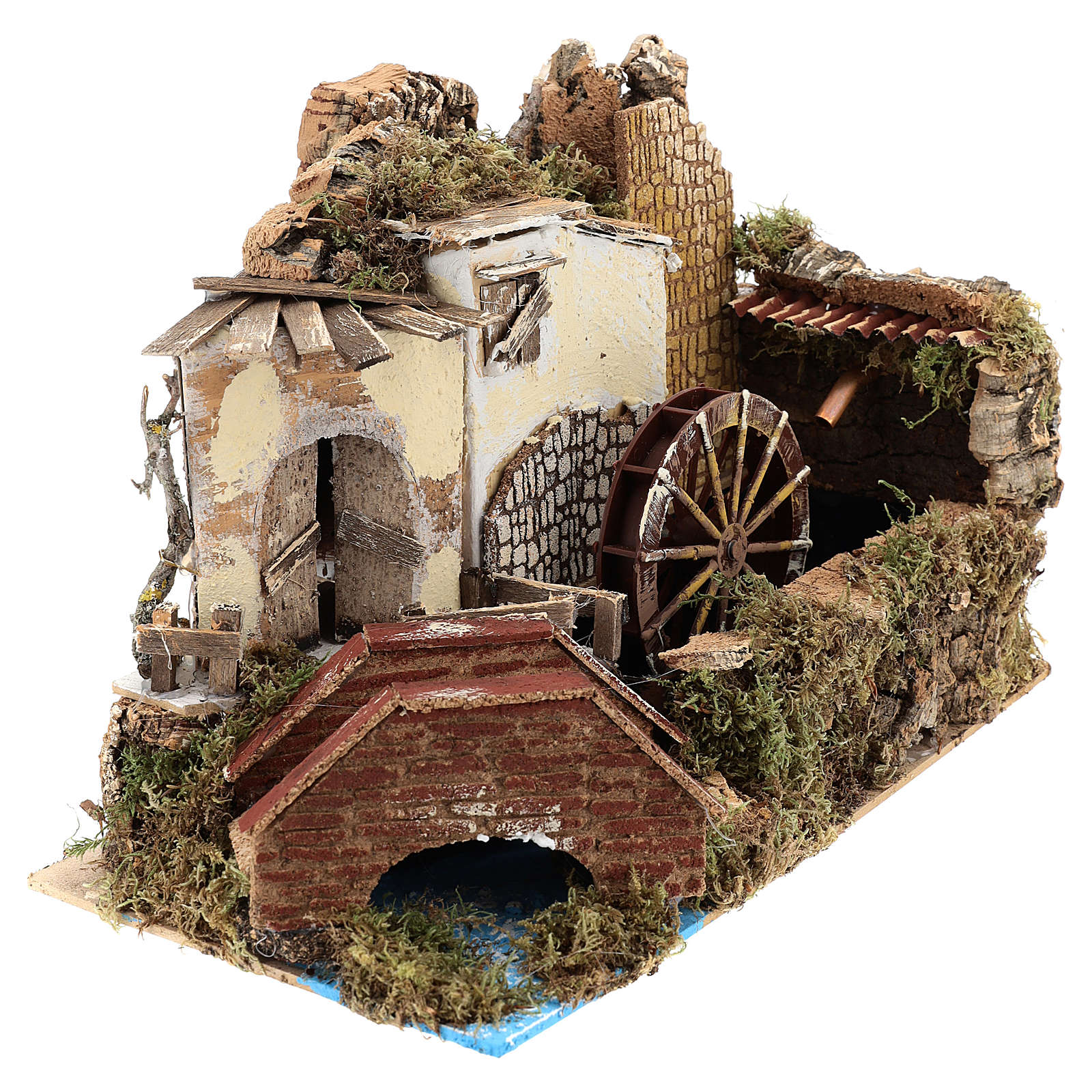 Water mill with pump 20x30x20 cm 4