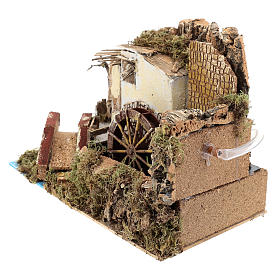 Water mill with pump 20x30x20 cm s2