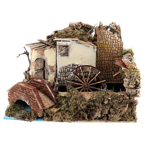 Water mill with pump 20x30x20 cm 1
