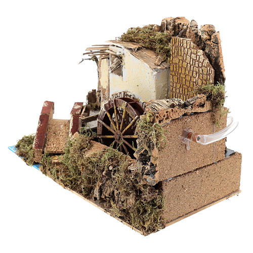Water mill with pump 20x30x20 cm 2