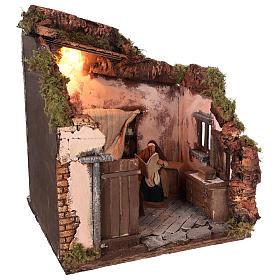 Ambientación habitación con personajes movimiento 14 cm s4