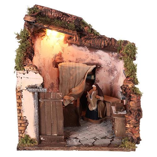 Ambientación habitación con personajes movimiento 14 cm 1