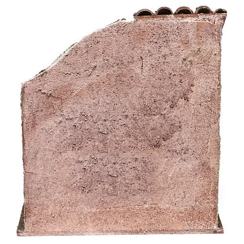 Henil con accesorio fino para belén de 10 cm 20x20x15 cm 4