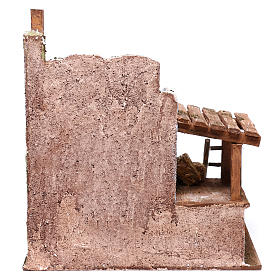 Barn for Nativity scene 12 cm 25x25x20 cm s4