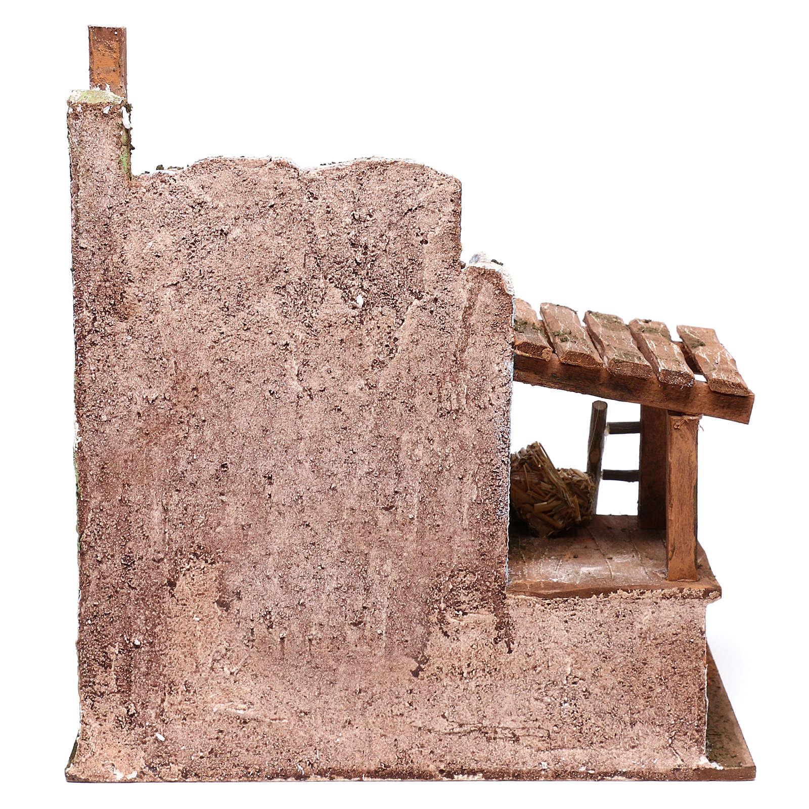Fenil pour crèche de 12 cm 25x25x20 cm 4