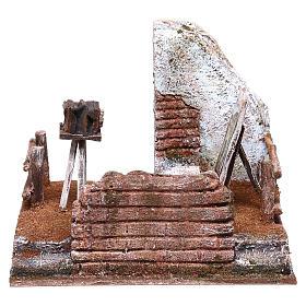 Photographer setting 15x20x15 cm for Nativity scene of 10 cm s1