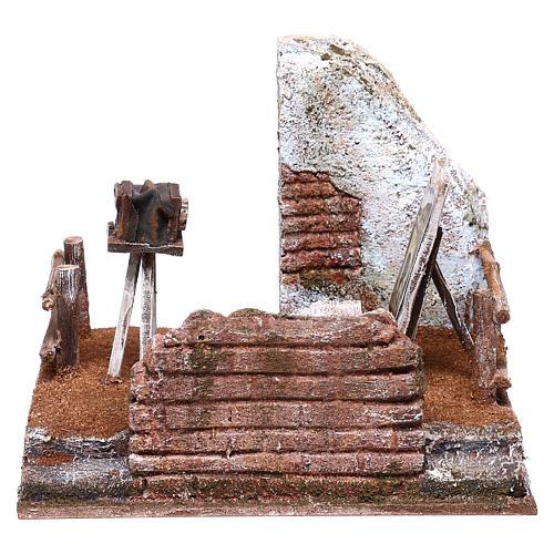 Photographer setting 15x20x15 cm for Nativity scene of 10 cm 1