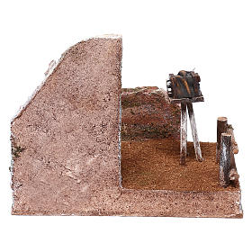 Ambientación fotógrafo 15x20x15 cm para belenes de 10 cm s4