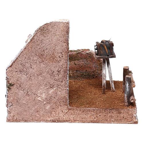 Ambientación fotógrafo 15x20x15 cm para belenes de 10 cm 4